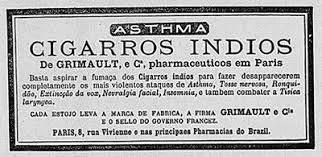 cigarros indios publicidade A maconha no Brasil: uma breve história do legal ao ilegal