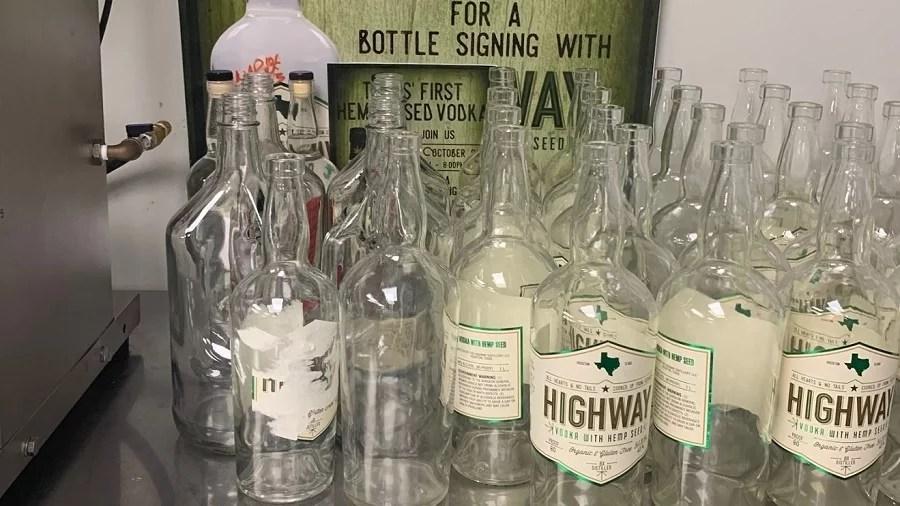highway vodka Destilaria de propriedade de negros no Texas (EUA) cria vodca de cannabis que não dá ressaca