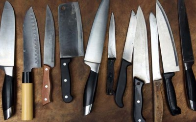 Barbecue knife collection