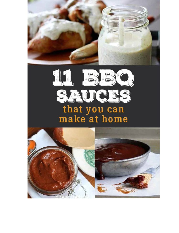 Whether you are after a barbecue sauce that is spicy, sweet or somewhere in between, this list will provide you plenty of ideas.
