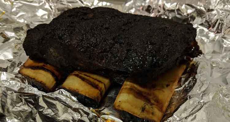 Foil beef ribs