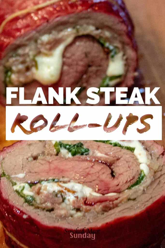 #ad Is it date night in your house? Stop by the new Albertson's on Broadway to pick up the ingredients for these Flank Steak Roll-Ups. These flank steak roll-ups are easy to make, and every bite is packed with flavor. - pellet grill recipe - Traeger recipe - smoked foods - barbecue - bbq #eatlifeup