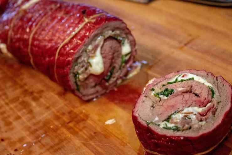 Flank Steak Roll-up