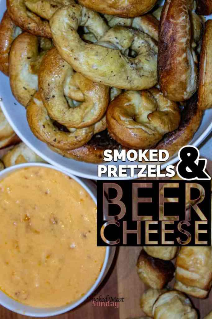 Have you ever made your own beer cheese? What about pretzels? I made both, and the end result was a combination of smoky, cheesy, hoppy flavor that was to die for. Pretzel recipe - beer cheese recipe - smoker recipe - pellet grill recipe - #eatlifeup #beer