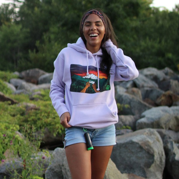 Hoodie in Lavendar – Smoke Proper T-Shirt