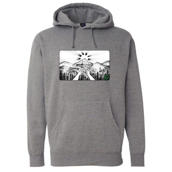Grey –Smoke Proper Hoodie