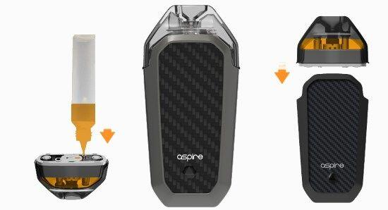 How to fill the Aspire AVP Pod