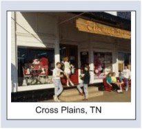 Cross Plains town