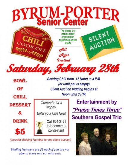 Byrum Porter chili cookoff