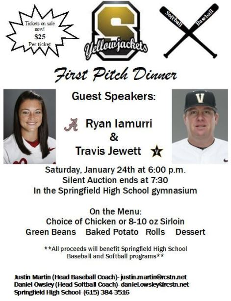 First Pitch Dinner