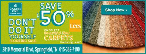 Carpet One April sale 511