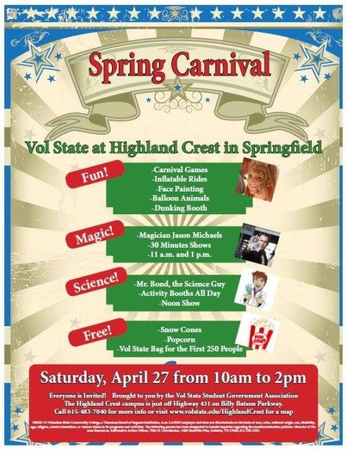 Spring Carnival - Highland Crest