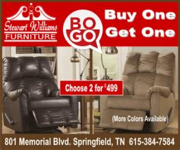 Stewart Williams Buy one get recliner ad 300
