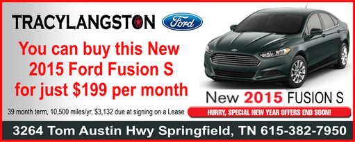Tracy langston Ford Fusion 511b