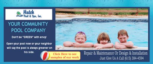 post pool ad