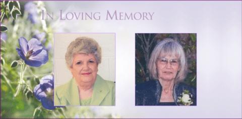 Obituaries Suter and Clark slider