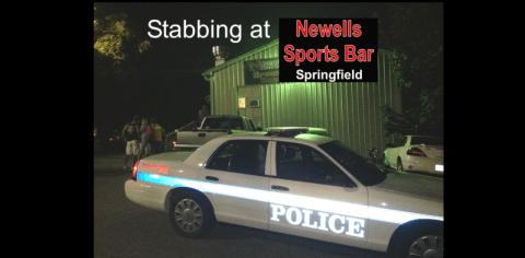 stabbing at Newells slider