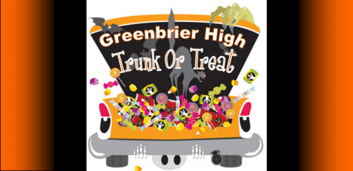 Greenbrier High trunk or treat