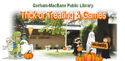 library trick treating
