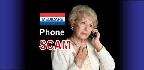 medicare phone scam slider