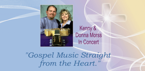 Kenny and donna morss in concert slider