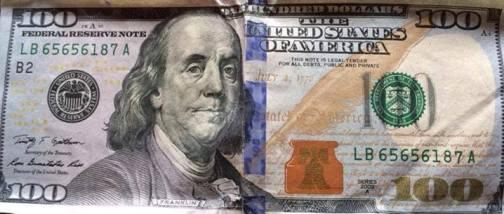 image of 100 dollars