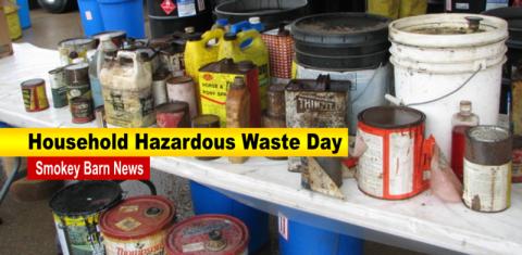 Hazardous Waste Day slider