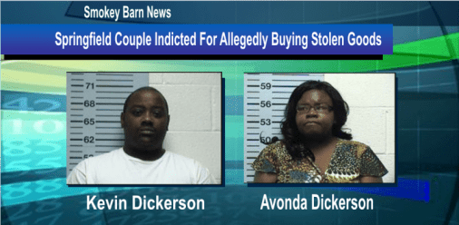 Springfield Couple Indicted For Allegedly Buying Stolen Goods