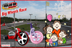 Big Wheels Race flyer