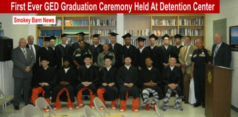 Ged ceremony at detention center slider