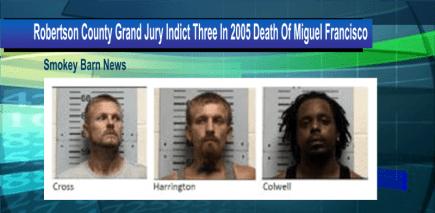 Grand jury indict three slider