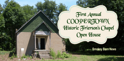 Historic chapel open house slider