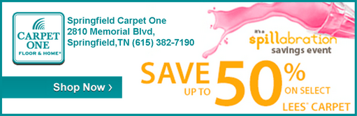 Carpet one august ad 511