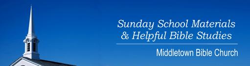 Middletown Bible Church banner