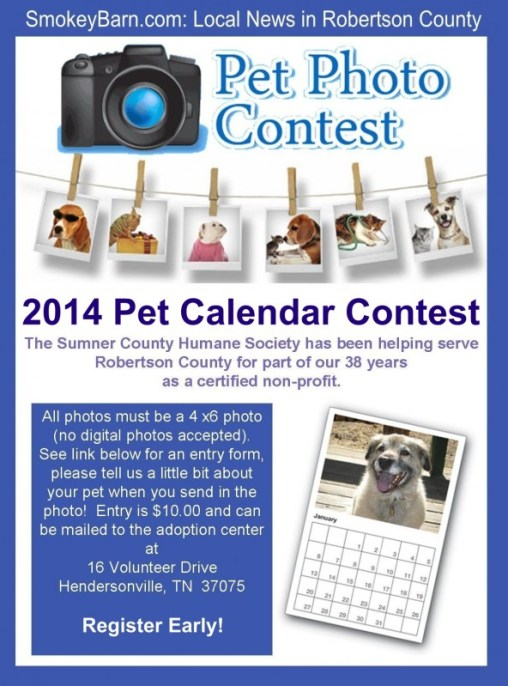 pet contest 2014 flyer