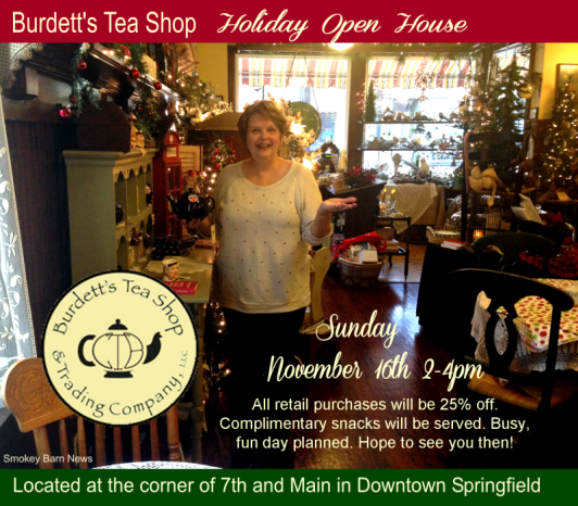 Burdett's Christmas Open House 2014 a