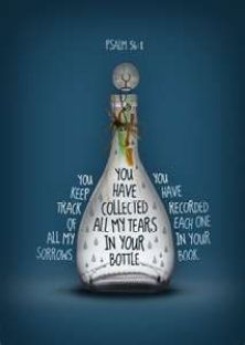 tear bottle painting