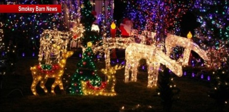 White house Christmas lights contest slider