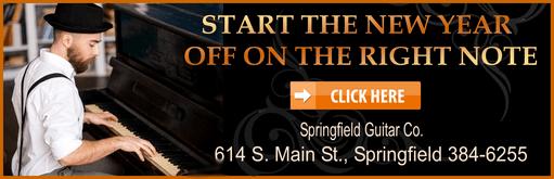 Springfield Guitar Paino orange 511