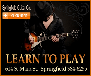 Springfield guitar electric guitar black 300