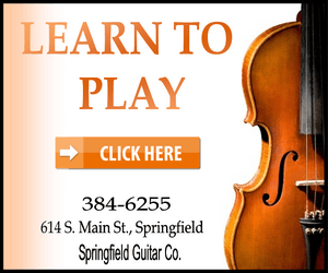 Springfield guitar violin white 300
