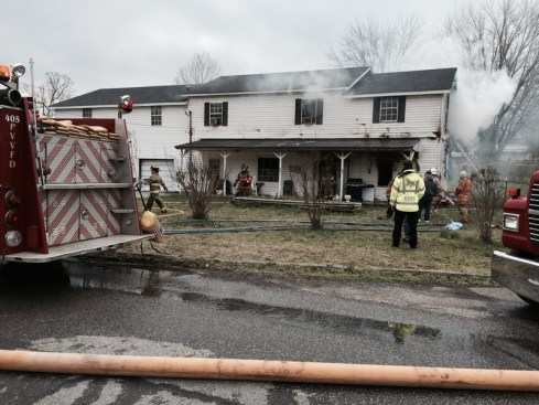 Coopertown fire 2