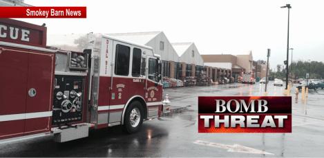 Walmart bomb threat slider