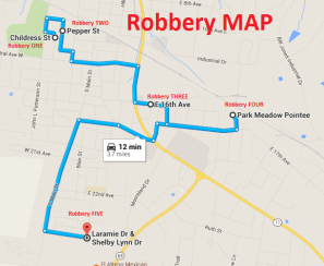 Robbery MAP