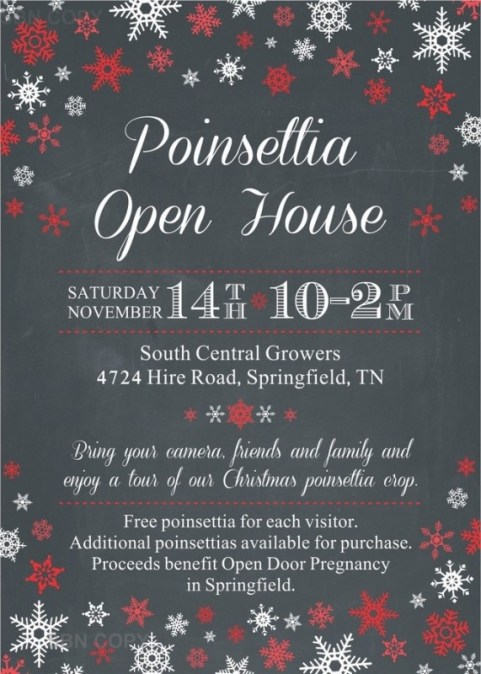 Christmas Open House 2015