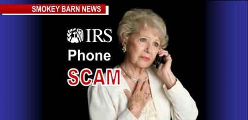 IRS scam slider