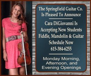 Springfield Guitar Cara lessons 300