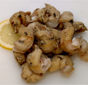 Frozen Cooked Whelk Meat SmokeyBay