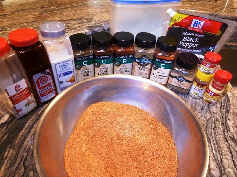 Jan's Original Dry Rub Ingredients