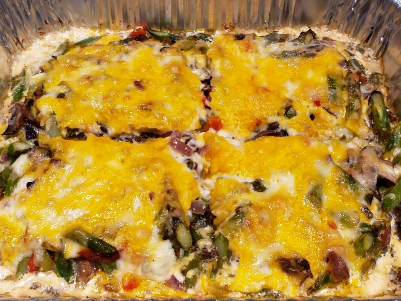 Baked Chicken and Asparagus Casserole